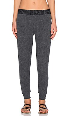 SOLOW Ultralounge Jogger Pant in Charcoal