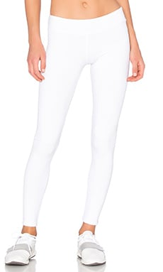 Wavestitch Legging in White