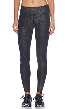 Coated High Impact Legging in Black