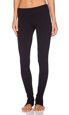 SOLOW Foothole Legging in Black