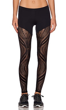 SOLOW Lace Legging in Black