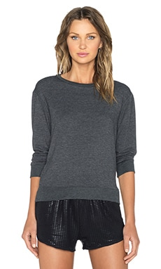 SOLOW French Terry Pullover in Grey