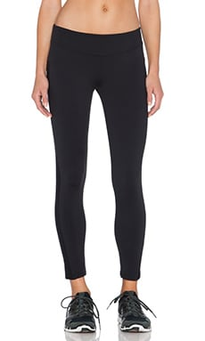 SOLOW Eclon Ankle Crop Legging in Black
