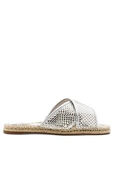 SOLES Regatta Sandal in Silver