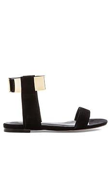SOLES X SKIN Down Town Sandal in Black