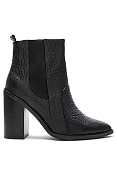 Lori Boot in Elephant Black Leather