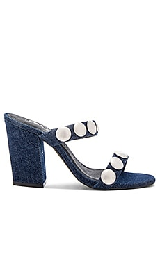 Sheri Heel in Dark Denim