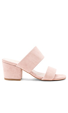 Tina Mule in Rose Quartz Suede