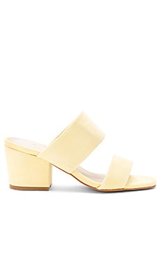 Tina Mule in Butter Suede