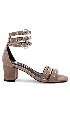 Фото - Обувь на каблуке sugar - Sol Sana серо-коричневого цвета