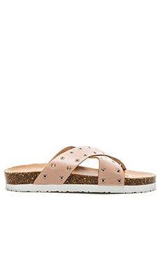 Miles Sandal in Blush
