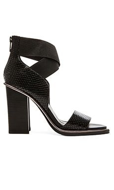 Sol Sana Fogal Heel in Black Python