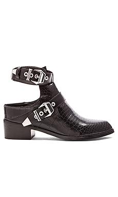 Sol Sana Samuel II Boot in Black Python