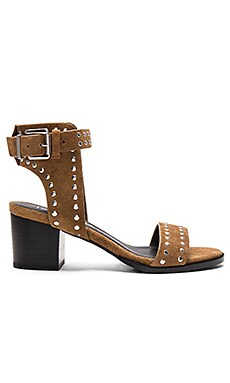 Sol Sana Porter Heel in Cognac Suede