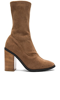 Chloe Boot in Cognac Suede