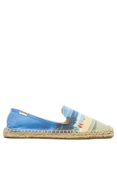 Soludos x Jeff Divine Pipeline Espadrille in Blue Multi