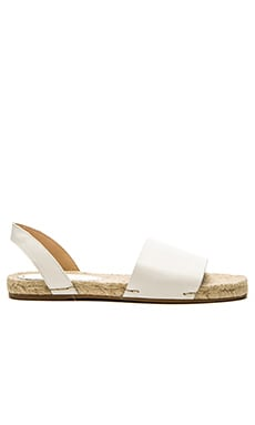 Slingback Sandal in White