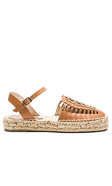 Soludos Platform Huarache Sandal in Vachetta