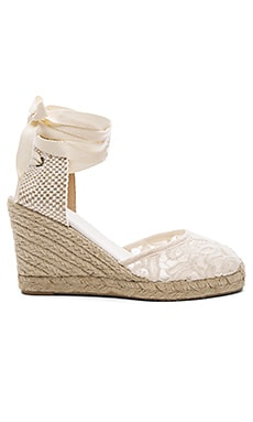 Tall Wedge in Ivory