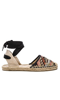 Soludos Classic Sandal in Black Multi