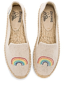 x Ash Kahn Rainbow Platform Smoking Slipper