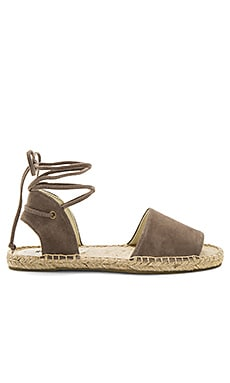 Balearic Tie Up Sandal in Dove Gray