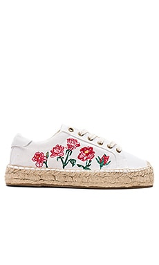 Rose Platform Tennis Sneaker