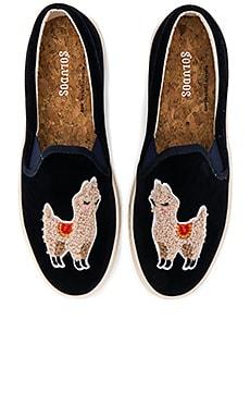 Velvet Llama Sneaker