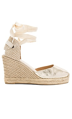 Metallic Tall Wedge