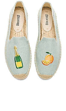 Mimosa Platform Smoking Slipper
