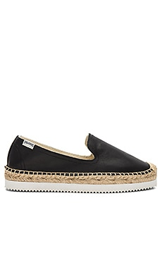 Platform Mix Sole Smoking Slipper Soludos $70