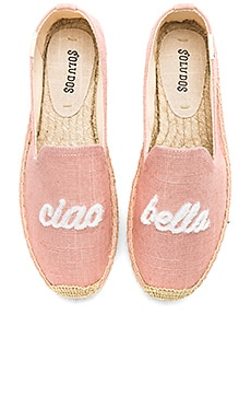 Ciao Bella Smoking Slipper Soludos $75