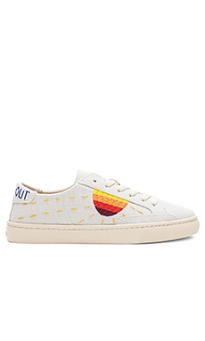 Embroidered Sun Sneaker Soludos $99 BEST SELLER