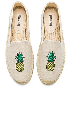 Pineapple Smoking Slipper Soludos $75