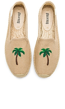 Palm Tree Smoking Slipper Soludos $49