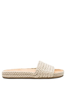 Braided Pool Slide Soludos $61