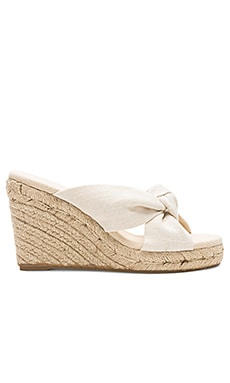Knotted Wedge (90MM) Soludos $95