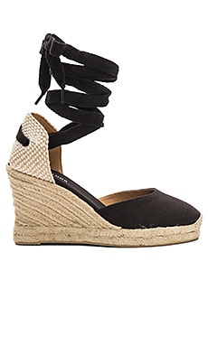 Tall Wedge Soludos $76