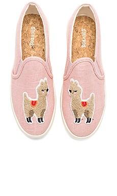 Llama Slip On Sneaker Soludos $99