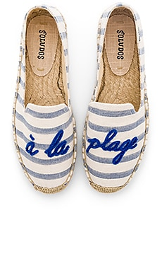 SLIPPERS SMOKING A LA PLAGE Soludos $75
