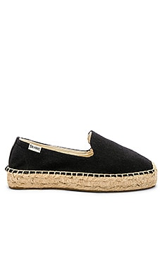 Platform Smoking Slipper Soludos $75
