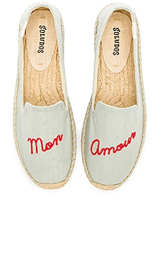 Mon Amour Smoking Slipper Soludos $58