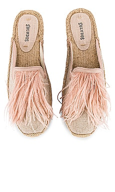 FEATHERS スライド Soludos $99