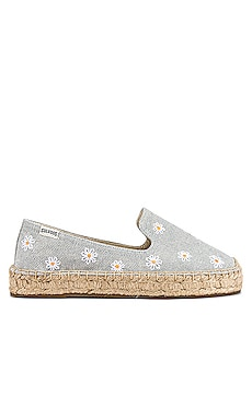 Daisies Embroidered Espadrille Soludos $85