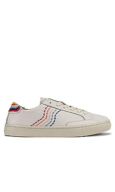 Retro Stripe Sneaker Soludos $91