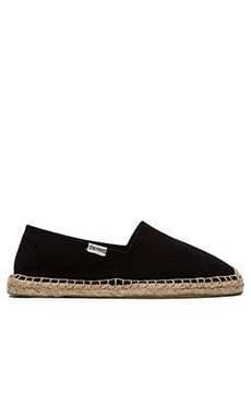 Soludos Dali Flat in Black