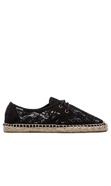 Soludos Lace Derby Lace up in Black