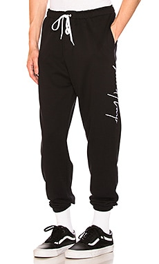 Large Script Sweatpants