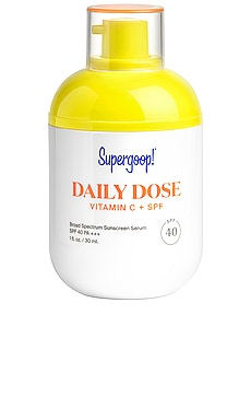 Daily Dose Vitamin C + SPF 40 Serum Supergoop! $46