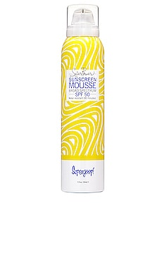 Super Power Sunscreen Mousse with Blue SeaKale SPF 50 Supergoop! $34